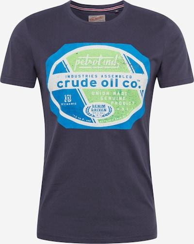 Petrol Industries T-Shirt en gris basalte, Vue avec produit