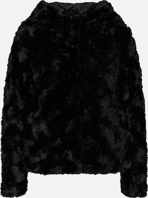 VERO MODA Kunstfelljacke Kunstfelljacke Kunstfelljacke in schwarz  Neu in diesem Quartal 1e3f2f