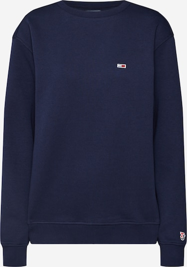 Tommy Jeans Pullover 'CLASSICS' in nachtblau, Produktansicht