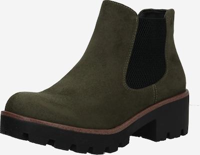 RIEKER Chelsea Boots in oliv / schwarz, Produktansicht