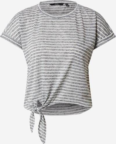 VERO MODA Top in de kleur Grijs / Wit, Productweergave