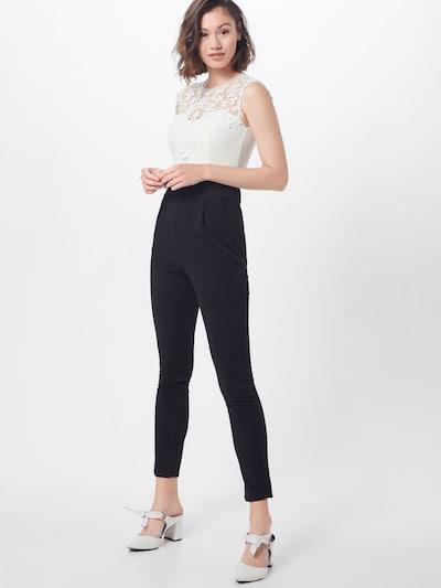 WAL G. Jumpsuit in schwarz / weiß, Modelansicht
