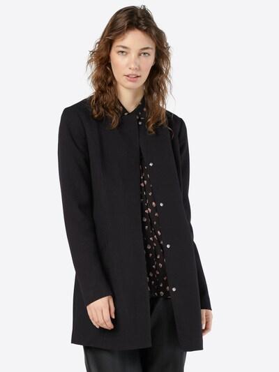 JACQUELINE de YONG Mantel 'New Brighton' in schwarz, Modelansicht