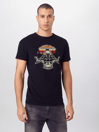 Derbe Shirt 'Biker' in marine / mischfarben: Frontalansicht