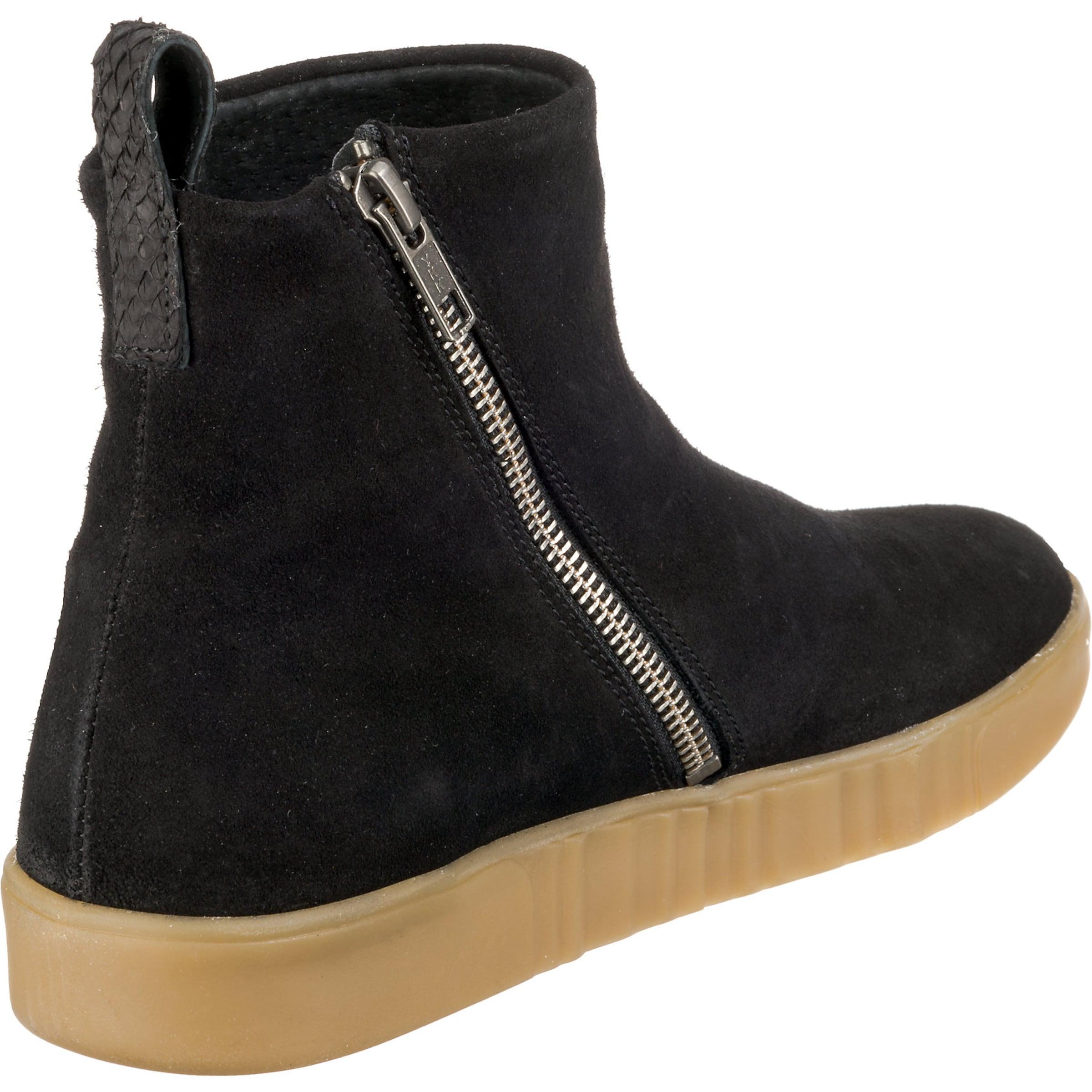 Suede' Woden Schwarz In Sneakers 'frida WE2Yb9eIDH