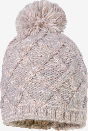 MAXIMO Mütze in gold / hellgrau, Produktansicht