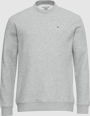 Tommy Jeans Sweatshirt in Grijs gemêleerd