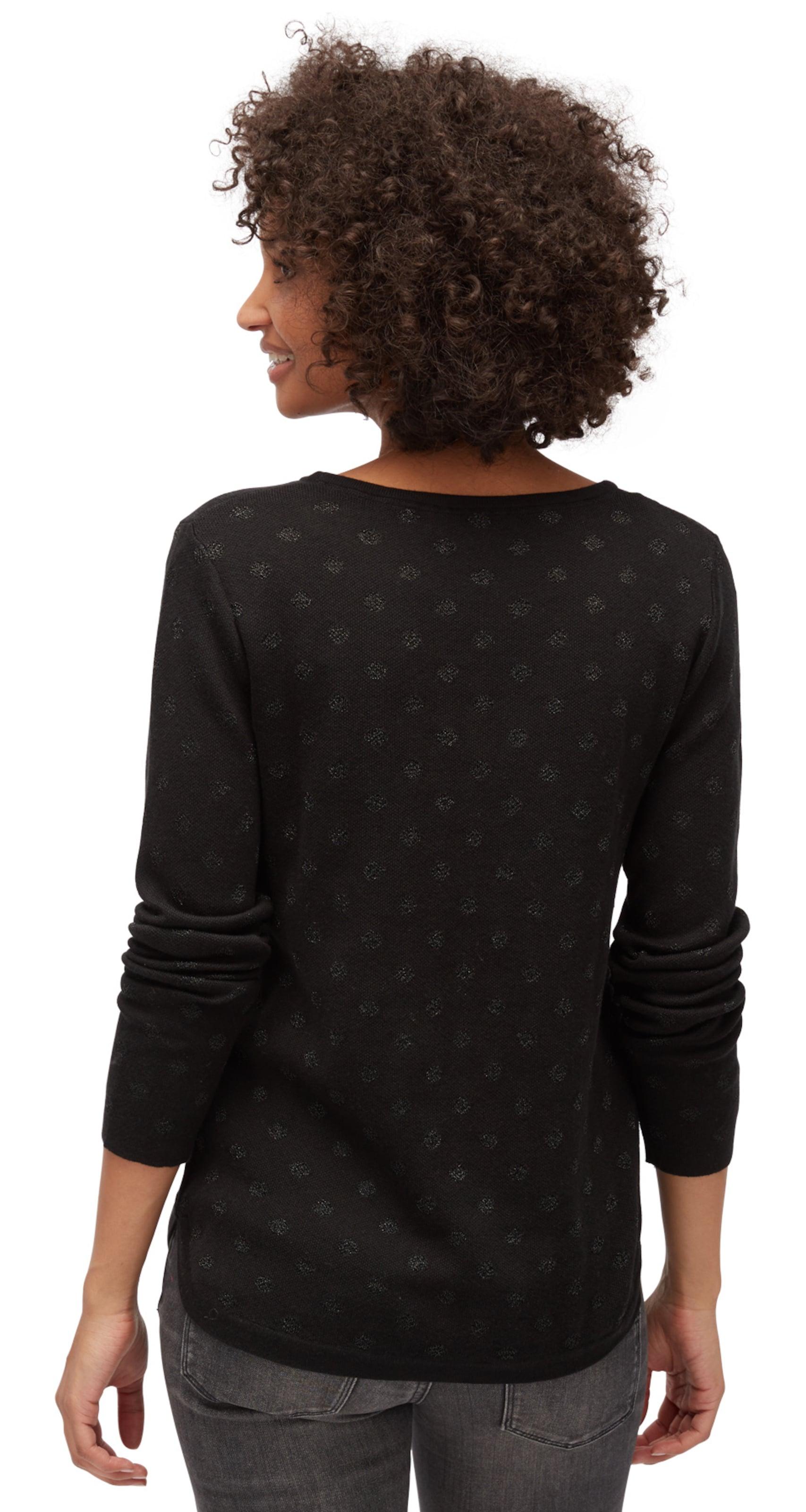Outlet Neueste TOM TAILOR knit gepunkteter Pullover Outlet Erschwinglich Erkunden Perfekt Zum Verkauf Orange 100% Original s533xdmLe3