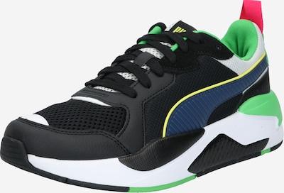 PUMA Baskets basses 'X-Ray' en vert / noir, Vue avec produit