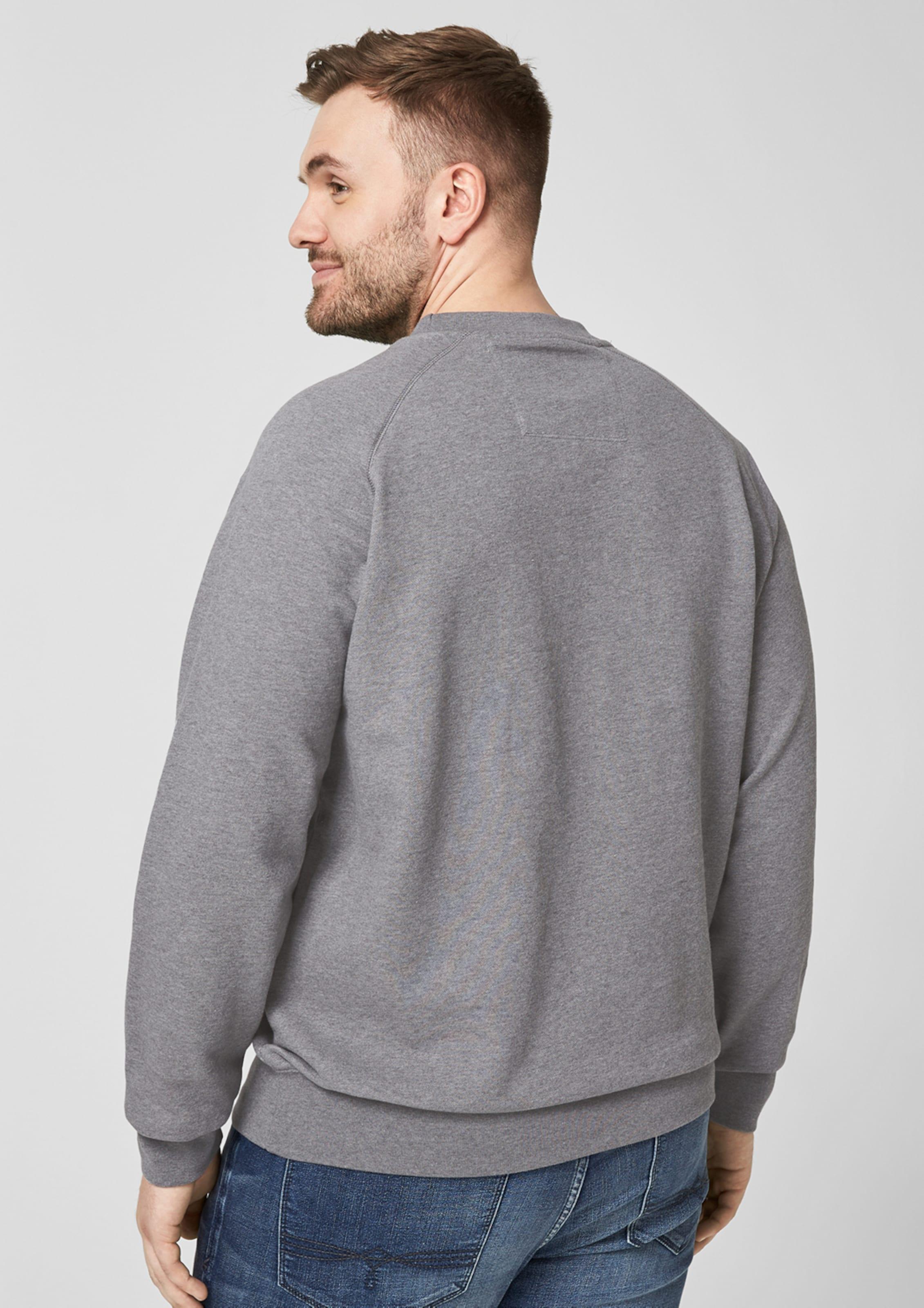 oliver Sweatshirt oliver Sweatshirt RauchgrauWeiß In S S In S Sweatshirt RauchgrauWeiß oliver 6b7gyYf