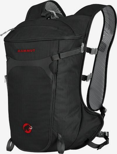 MAMMUT Sac à dos de sport 'Neon Speed' en gris foncé / noir, Vue avec produit