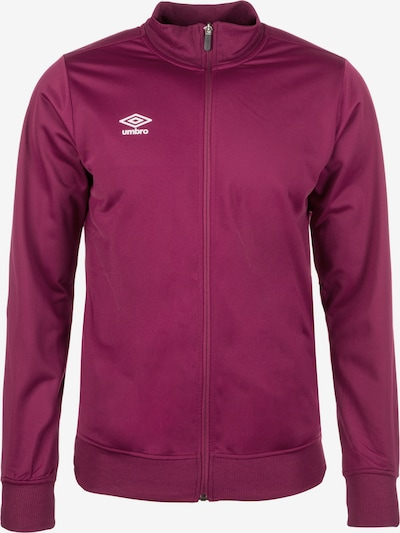 UMBRO Sportjas 'Poly' in de kleur Bordeaux, Productweergave