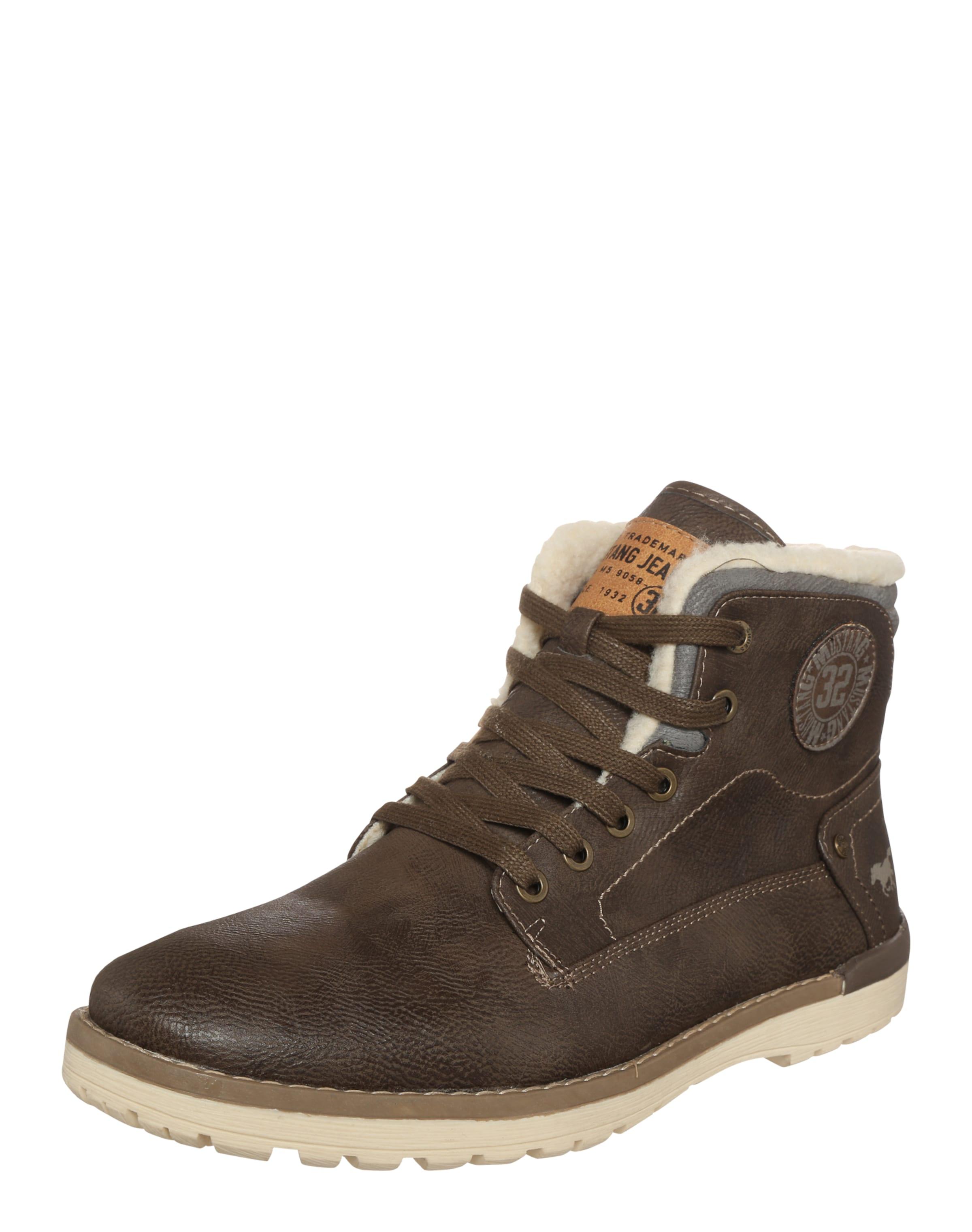Haltbare Mode billige Schuhe MUSTANG   Schnürboot Schuhe Gut getragene Schuhe