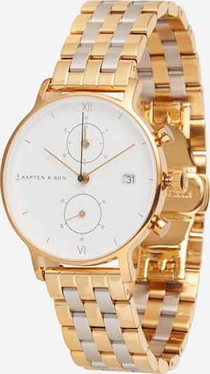 Kapten & Son Uhr 'Bicolor Steel' in gold / silber, Produktansicht