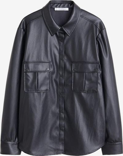 VIOLETA by Mango Hemd 'Nil' in schwarz, Produktansicht