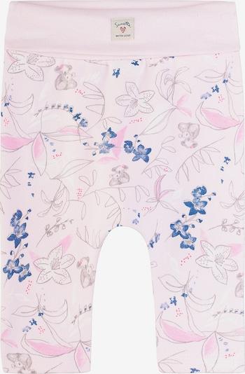 Sanetta Kidswear Sweathose in blau / rosa, Produktansicht