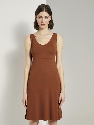 TOM TAILOR Kleid in braun, Modelansicht
