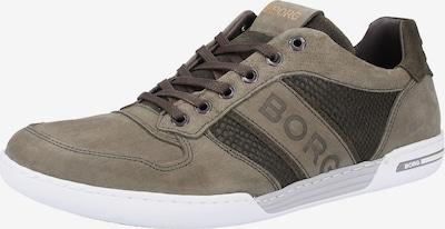 BJÖRN BORG Sneaker in braun / oliv, Produktansicht