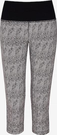 YOGISTAR.COM Yogi-Capri in grau / schwarz, Produktansicht