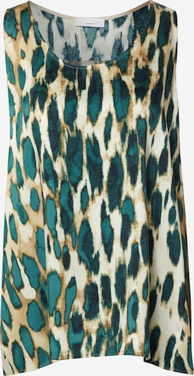 CINQUE Bluse 'CIPOLAR' in beige / schwarz, Produktansicht