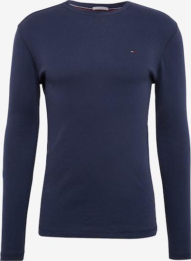 Tommy Jeans T-Shirt 'TJM ORIGINAL RIB' en bleu foncé, Vue avec produit