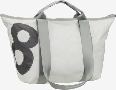 360 Grad Handtasche ' Schlepper Mini ' in weiß, Produktansicht