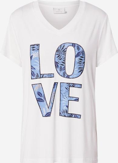 Kaffe T-Shirt 'KAflair T-shirt' in hellblau / gold / rosé, Produktansicht