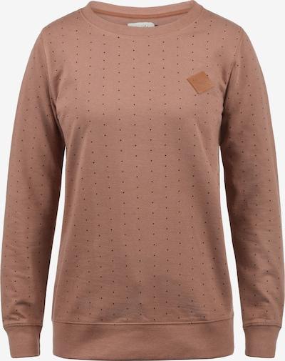 Blend She Sweatshirt 'Polly' in hellbraun / schwarz, Produktansicht