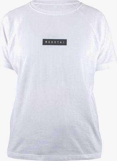 fehér MOROTAI Funkcionális felső ' Bloc Logo Shirt ', Termék nézet