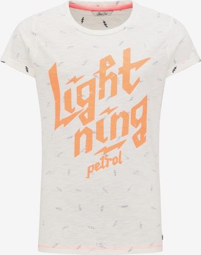 Petrol Industries T-Shirt in beige / orange, Produktansicht