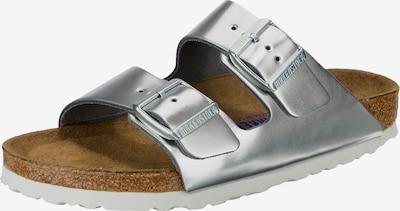 BIRKENSTOCK Klapki 'Arizona SFB' w kolorze srebrnym, Podgląd produktu