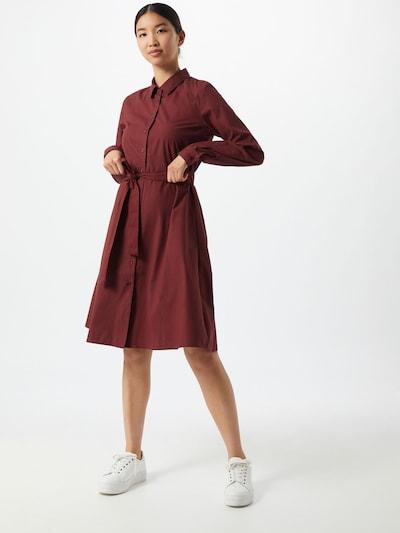 ICHI Kleid 'Sarah' in bordeaux, Modelansicht