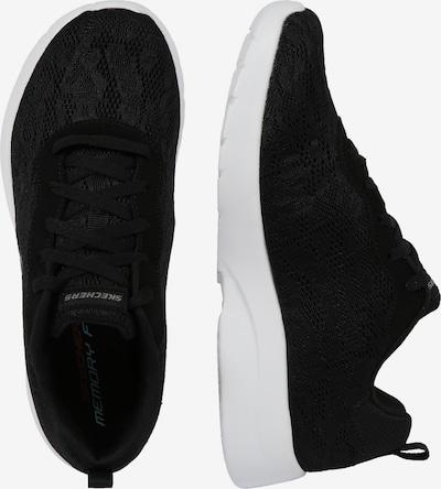 Sneaker low 'DYNAMIGHT 2.0' SKECHERS pe negru / alb: Privire laterală