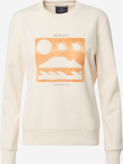 SCOTCH & SODA Sweatshirt in creme / apricot, Produktansicht