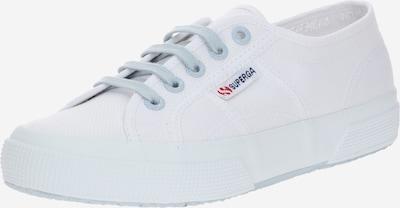 SUPERGA Sneaker in hellblau / weiß, Produktansicht