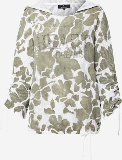 monari Trui in de kleur Kaki / Wit, Productweergave