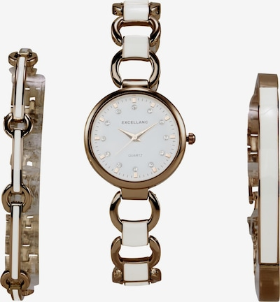 heine Analogové hodinky - bronzová / růže / bílá, Produkt