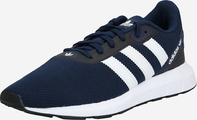 ADIDAS ORIGINALS Baskets basses 'SWIFT RUN RF' en bleu marine / noir / blanc, Vue avec produit