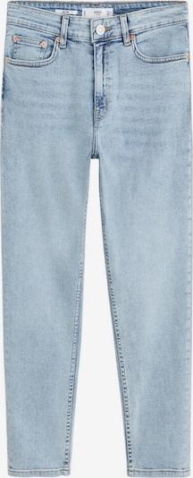 MANGO Jeans 'Mom' in de kleur Lichtblauw, Productweergave