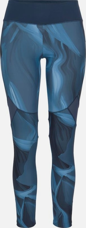 ACTIVE BY LASCANA Leggings 'Like a Feather' in opal / himmelblau: Frontalansicht