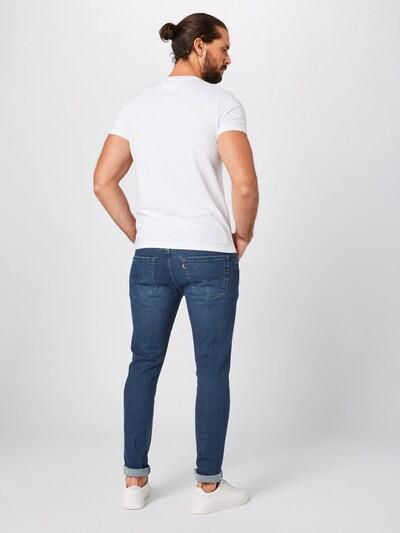 LEVI'S Jeans '512™' in blue denim: Rückansicht