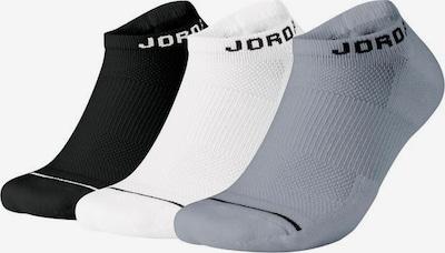 Calzino sportivo Jordan di colore grigio scuro / nero / bianco, Visualizzazione prodotti