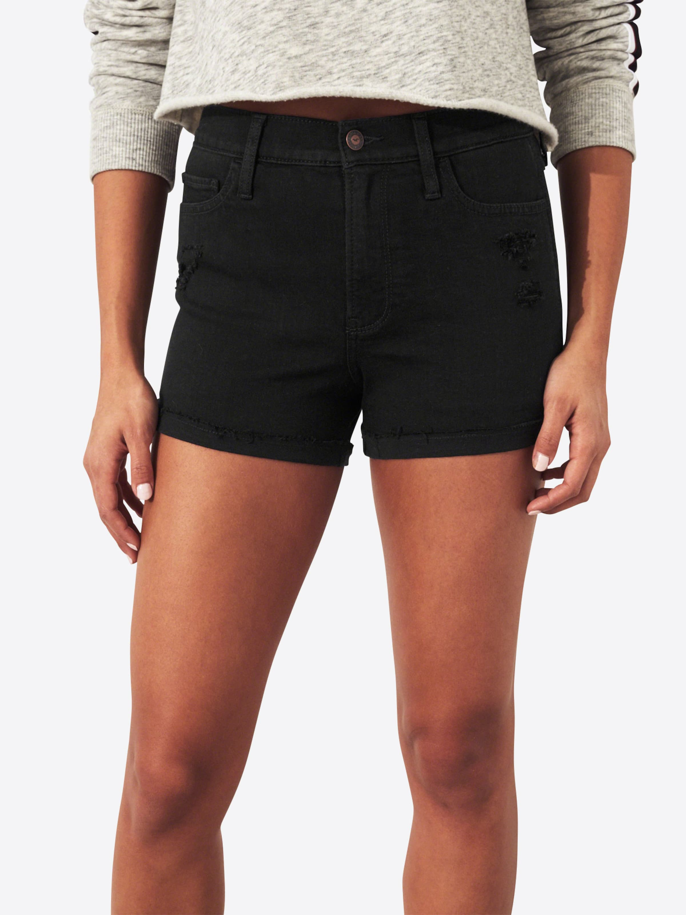 3 Denim Black black Jeans 'sb19 In As Rcc Hollister Short' Dst Hr VzSUMGpLq