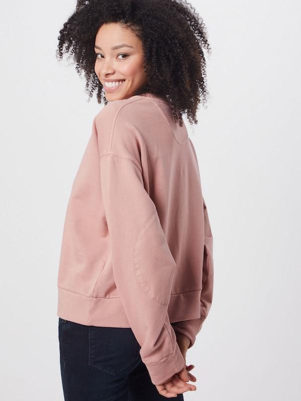 MANGO Sweatshirt Damen, Altrosa, Größe S in 2020 | Baumwolle