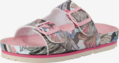 Pepe Jeans Pantoletten 'BIO TROPIC' für Mädchen in rosa, Produktansicht