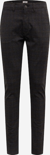 JACK & JONES Chino 'MARCO CHARLES CHECK AKM783' in de kleur Zwart, Productweergave
