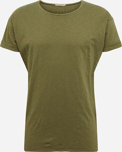 Nudie Jeans Co T-Shirt ' Roger Slub ' en vert, Vue avec produit