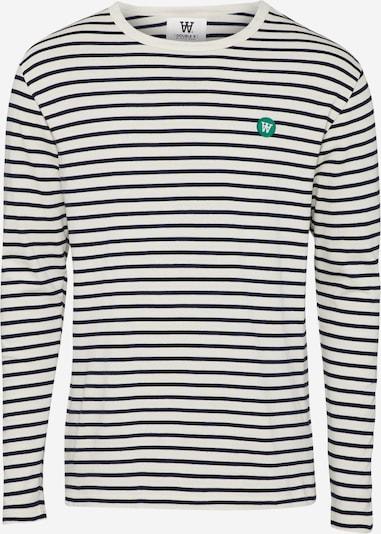 WOOD WOOD Langarmshirt in navy / offwhite, Produktansicht