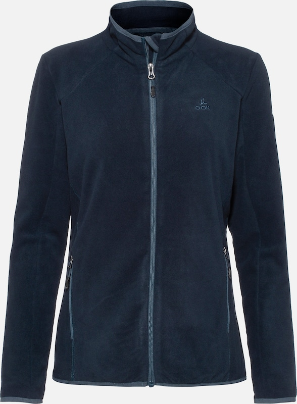 OCK Fleecejacke in navy: Frontalansicht