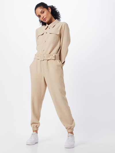 ONLY Jumpsuit 'SANNI' in de kleur Sand, Modelweergave